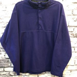 Patagonia Pullover Fleece Jacket Cobalt Blue